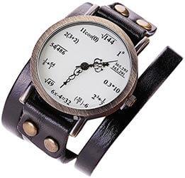 Reloj de pulsera ecuaciones